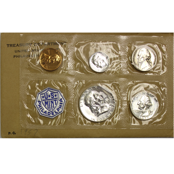 1957 Silver Proof Set