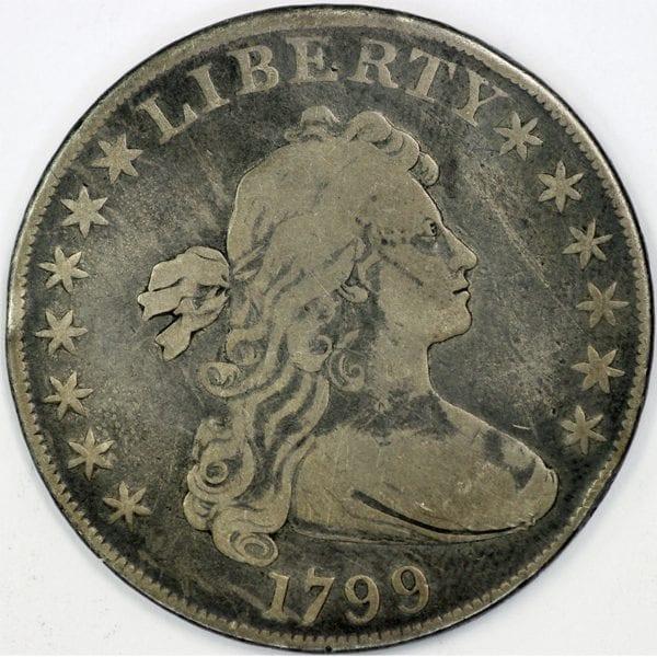 buy 1799 draped bust silver dollar