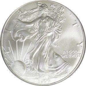 buy 1999 silver eagle