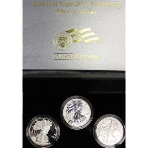 buy 2006 silver eagle 20th anniversary set
