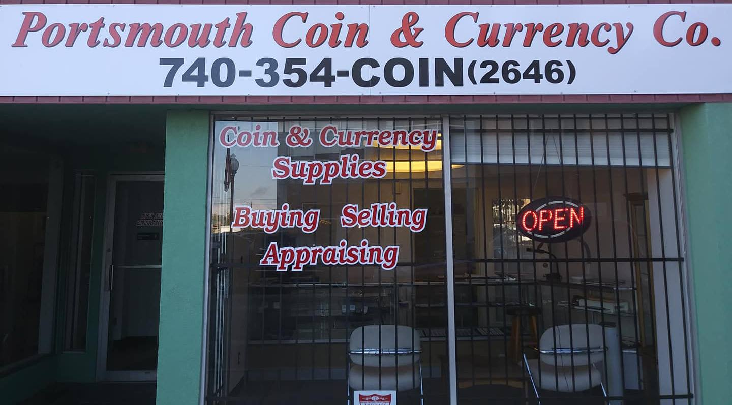Shop Buy Coins Portsmouth Ohio