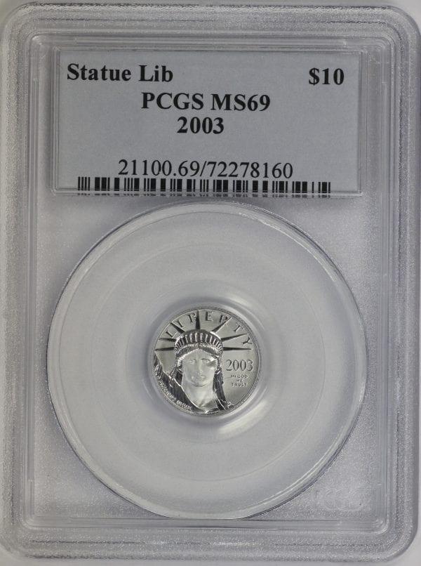 Buy Platinum Eagle 1/10th $5 Portsmouth Ohio