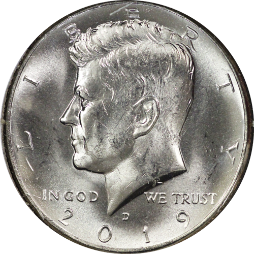 KENNEDY 2019 PD UNCIRCULATED FREE SHIPPING