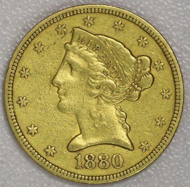 1991 5 dollar liberty gold coin