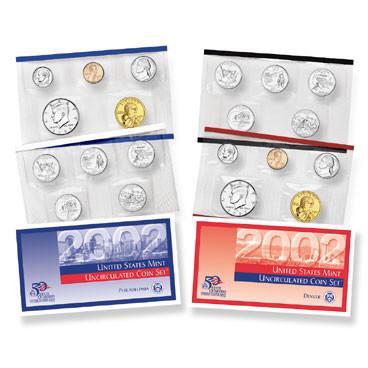 2002 baby coin set